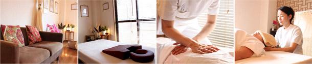 肩こり・腰痛・生理痛などに、全身のバランスを整える整体を
